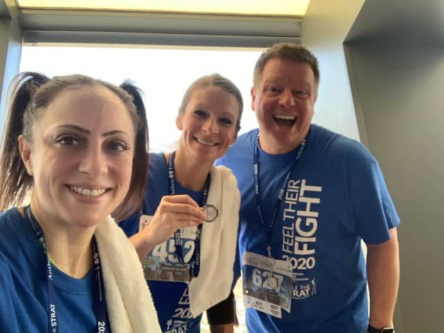 Team Carrington Makes Every Step Count While Scaling 108-Story Las Vegas Tower for Charity